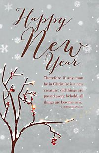 Scripture new year