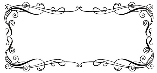 Scroll borders. Free border cliparts download
