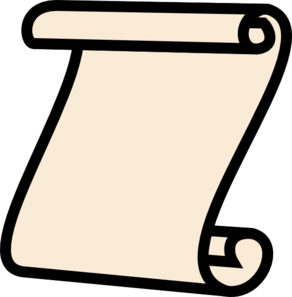 Scroll clipart. Free small cliparts download