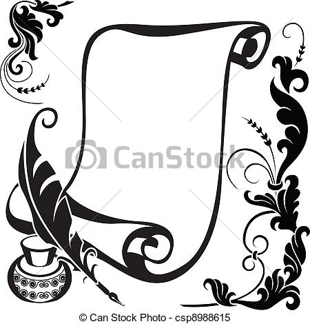 Illustrations and royalty free. Scroll clipart graphic download