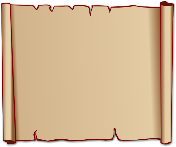 Torah clipart papyrus. Old scroll