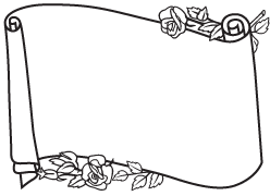 Scroll clipart memorial. Headstone clip art examples