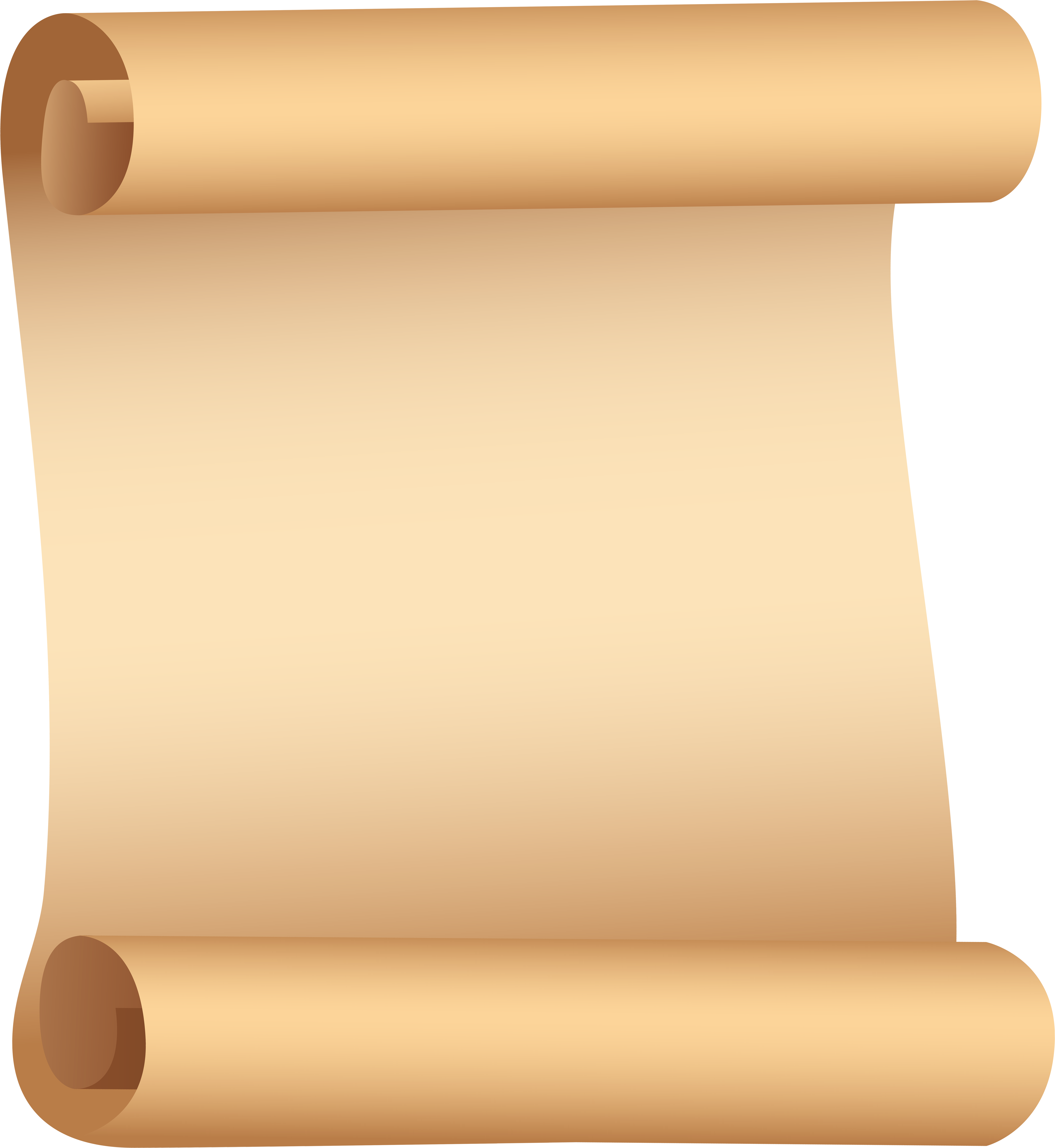 Paper scroll png. Download this image clipart