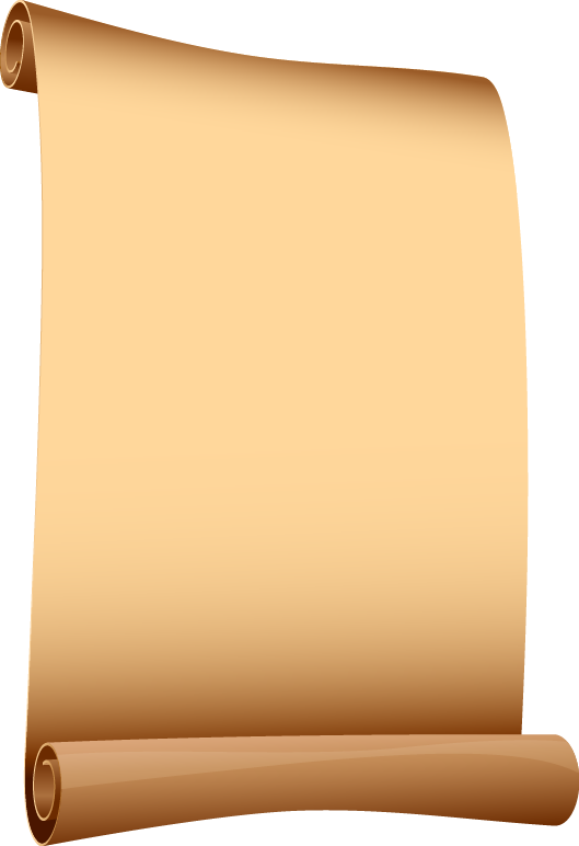 Old scroll png. Pink paper transparentpng