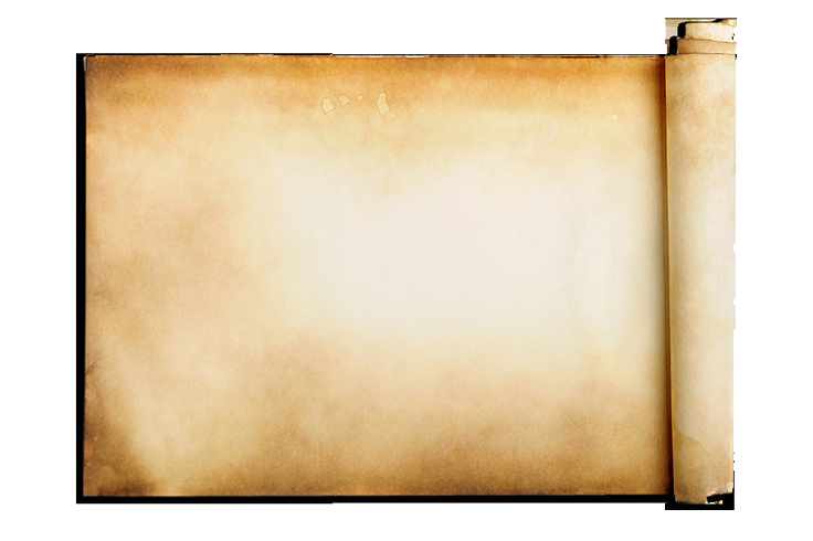 Scroll parchment png. Transparent images all