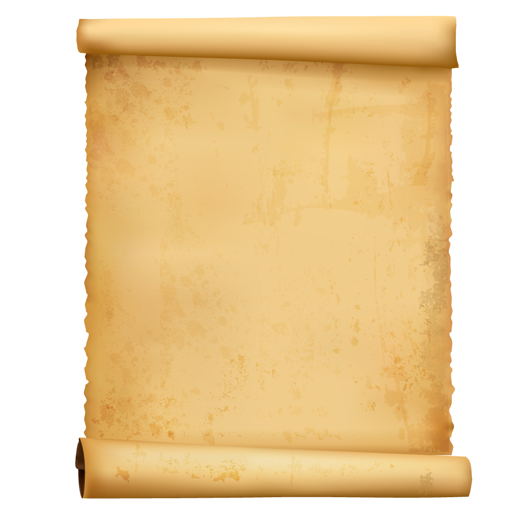 scroll parchment png