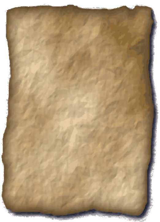 Scroll parchment png. Index of mapping objects