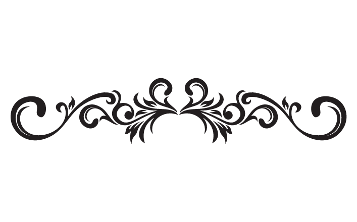 Scroll patterns png. Decorative cliparts co r