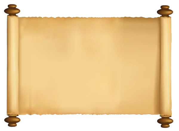 Scroll png image. Paper sacred transparent stickpng
