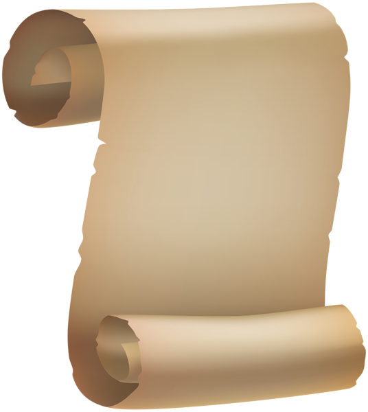 Scroll png image. Old paper clipart gallery