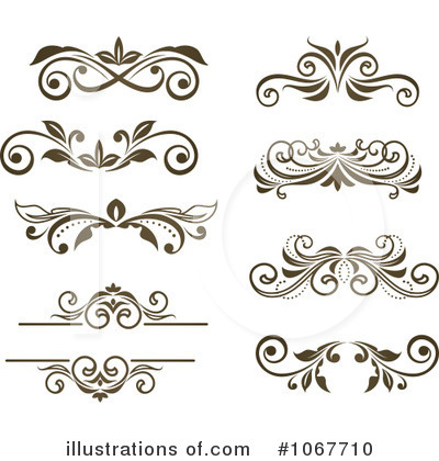 Scrolls clipart scrol. Illustration by vector tradition