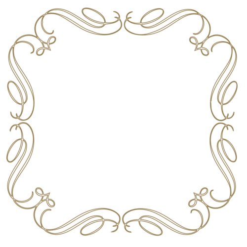 Vintage frame vector png. Scroll clipart border free