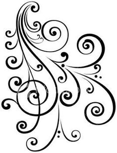 scrollwork clipart svg