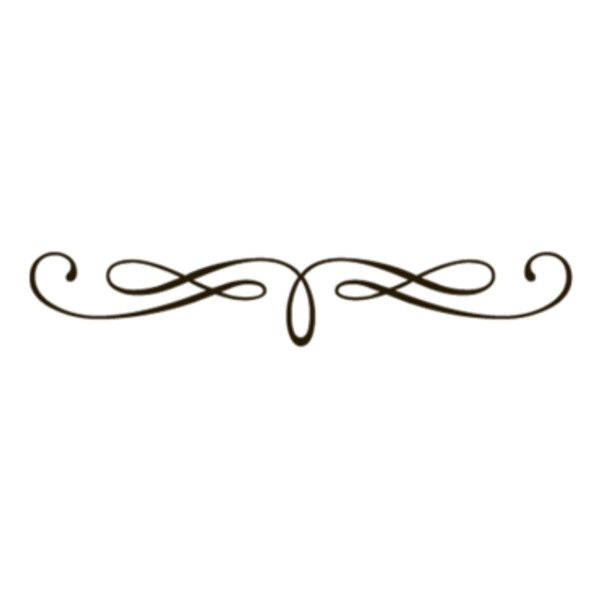 Scrollwork clipart underlines. Fancy underline swirls transparent
