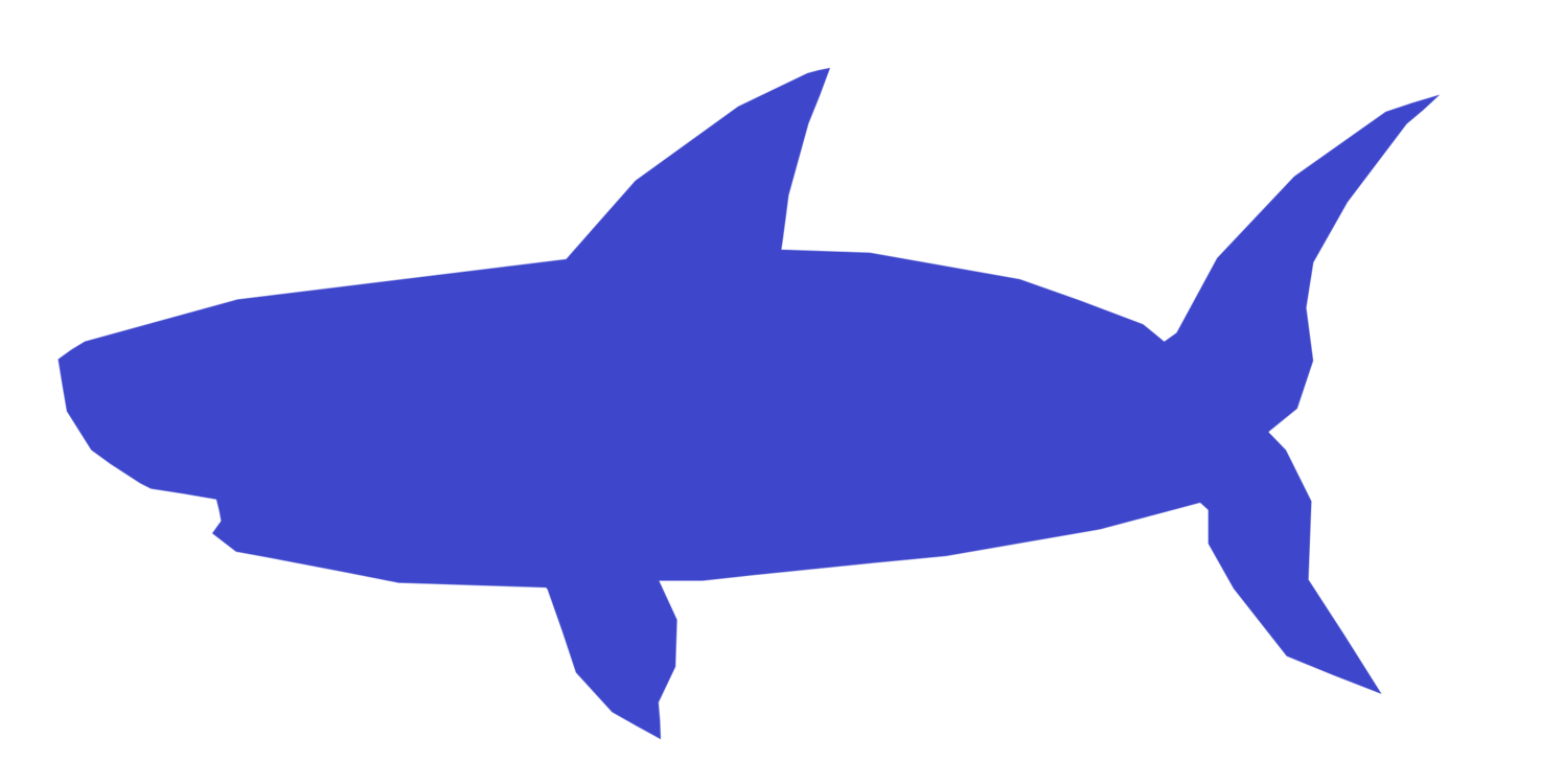Baby shark diving fin. Underwater clipart picture transparent library