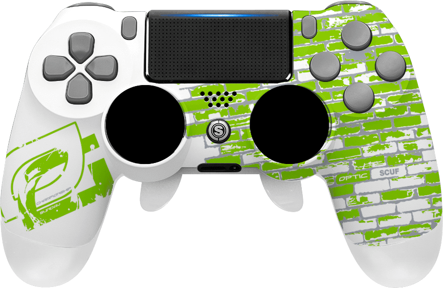 Scuf gaming png. Playstation controllers optic championship
