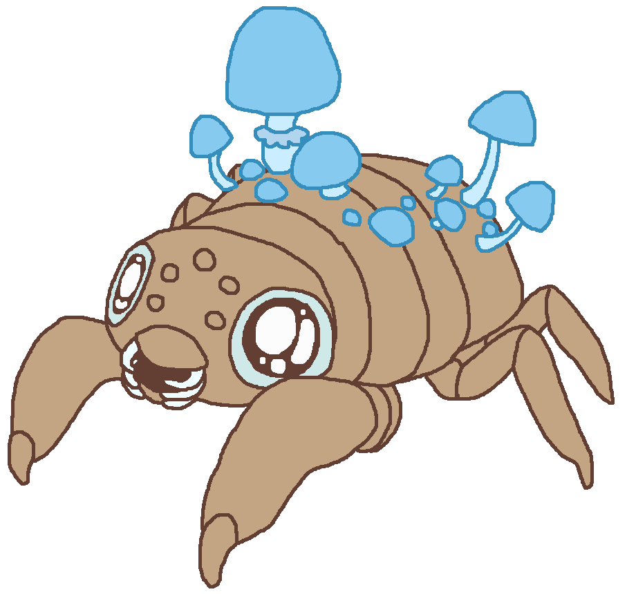 Scuttle crab png. By rockpools fur affinity