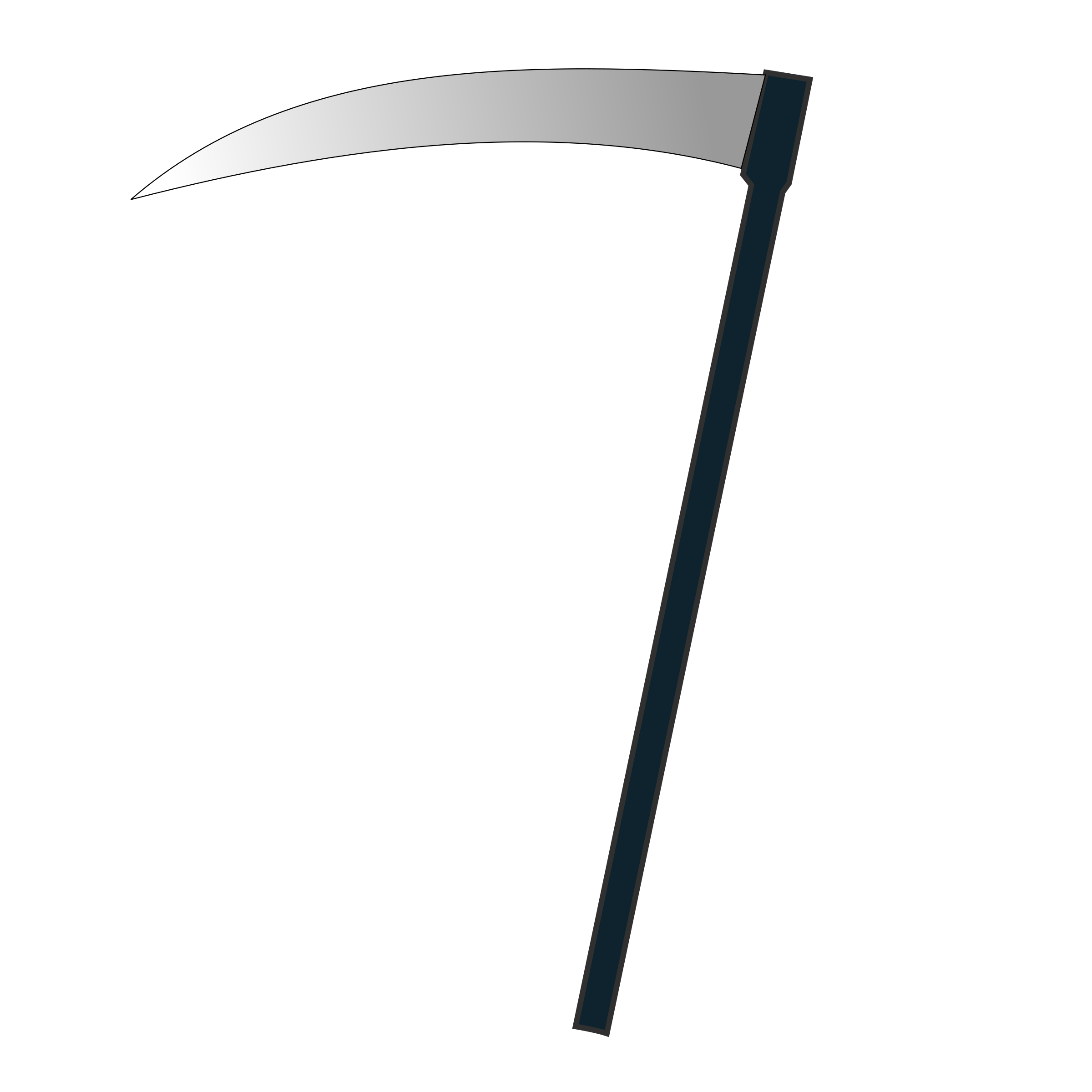 Transparent reaper scythe. X icon icons png