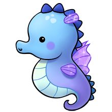 Seahorse clipart. Best under the