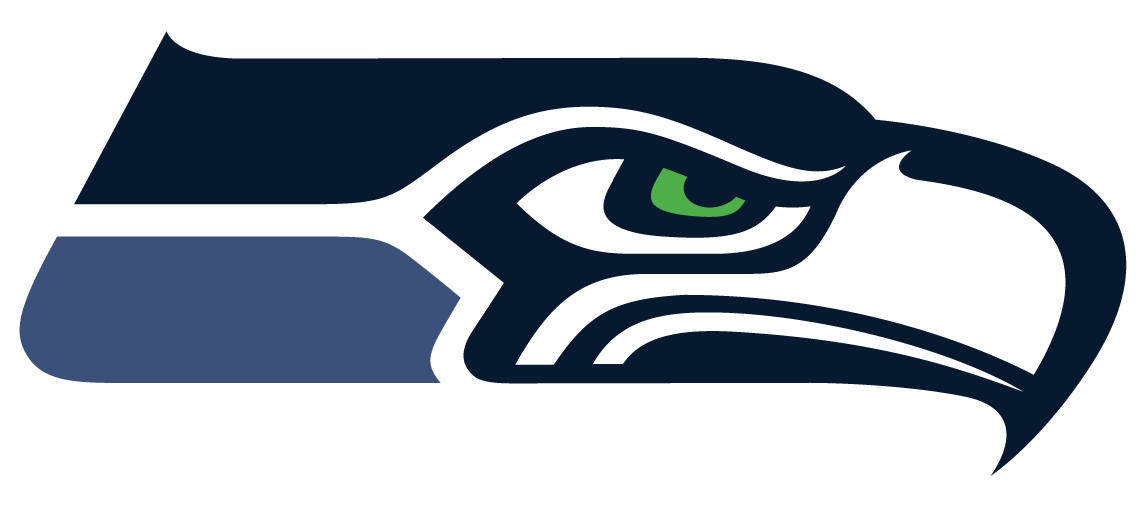 New seattle logos . Seahawks vector printable image black and white