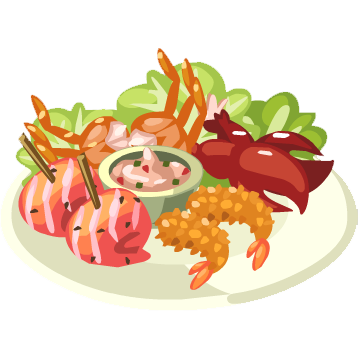 Seafood clipart seafood restaurant. Free platter cliparts download
