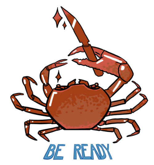 Seafood drawing ghost crab. Graphic royalty free