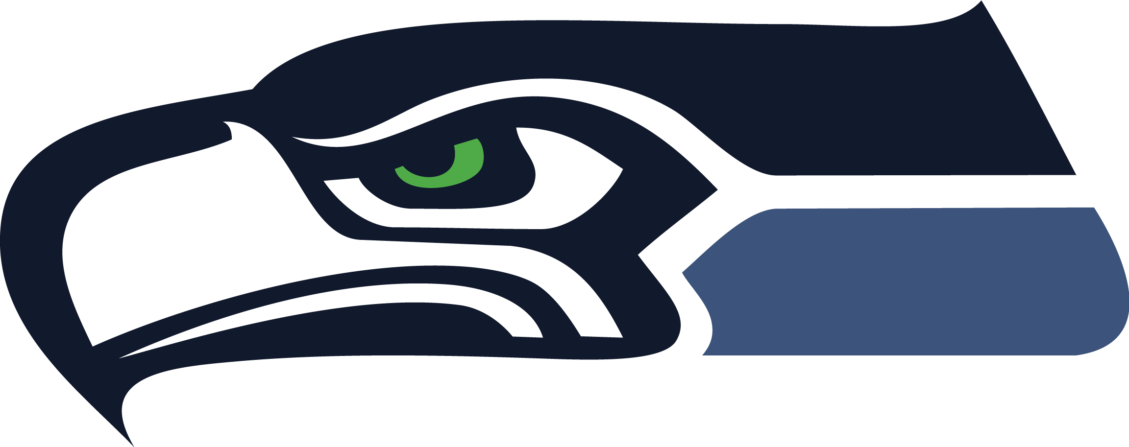 Seahawks logo png. Head window wall sticker