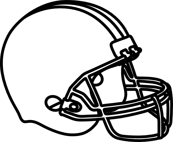Seahawks vector colouring page. Print football helmet coloring