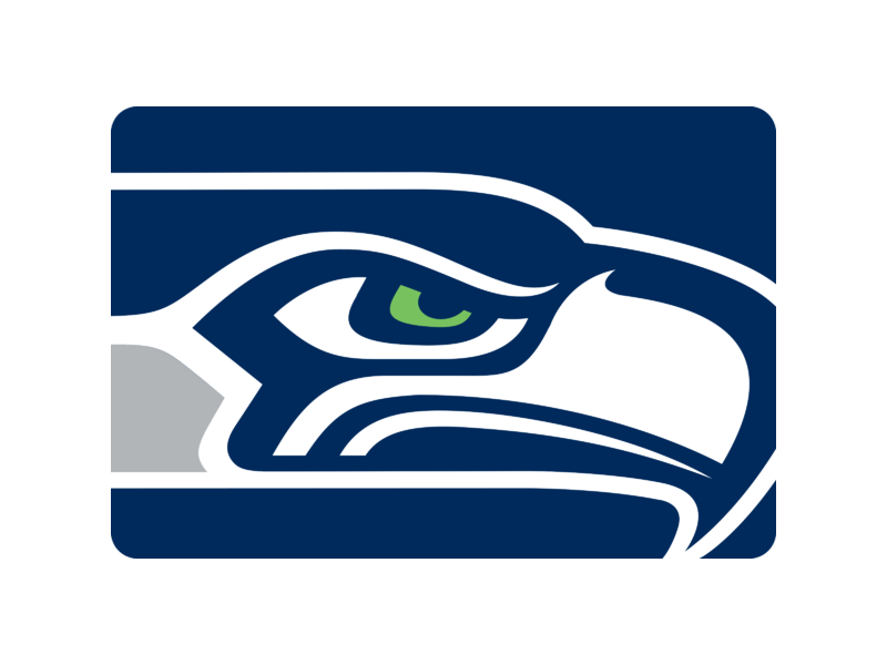 Seahawks vector icon. Logo png transparent svg