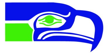 Seahawks vector old school. Hawks th woman pinterest