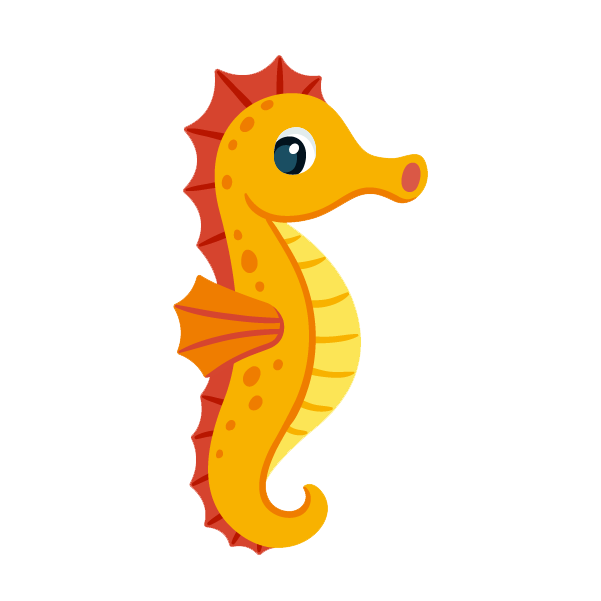 Seahorse clipart png. Collection of high