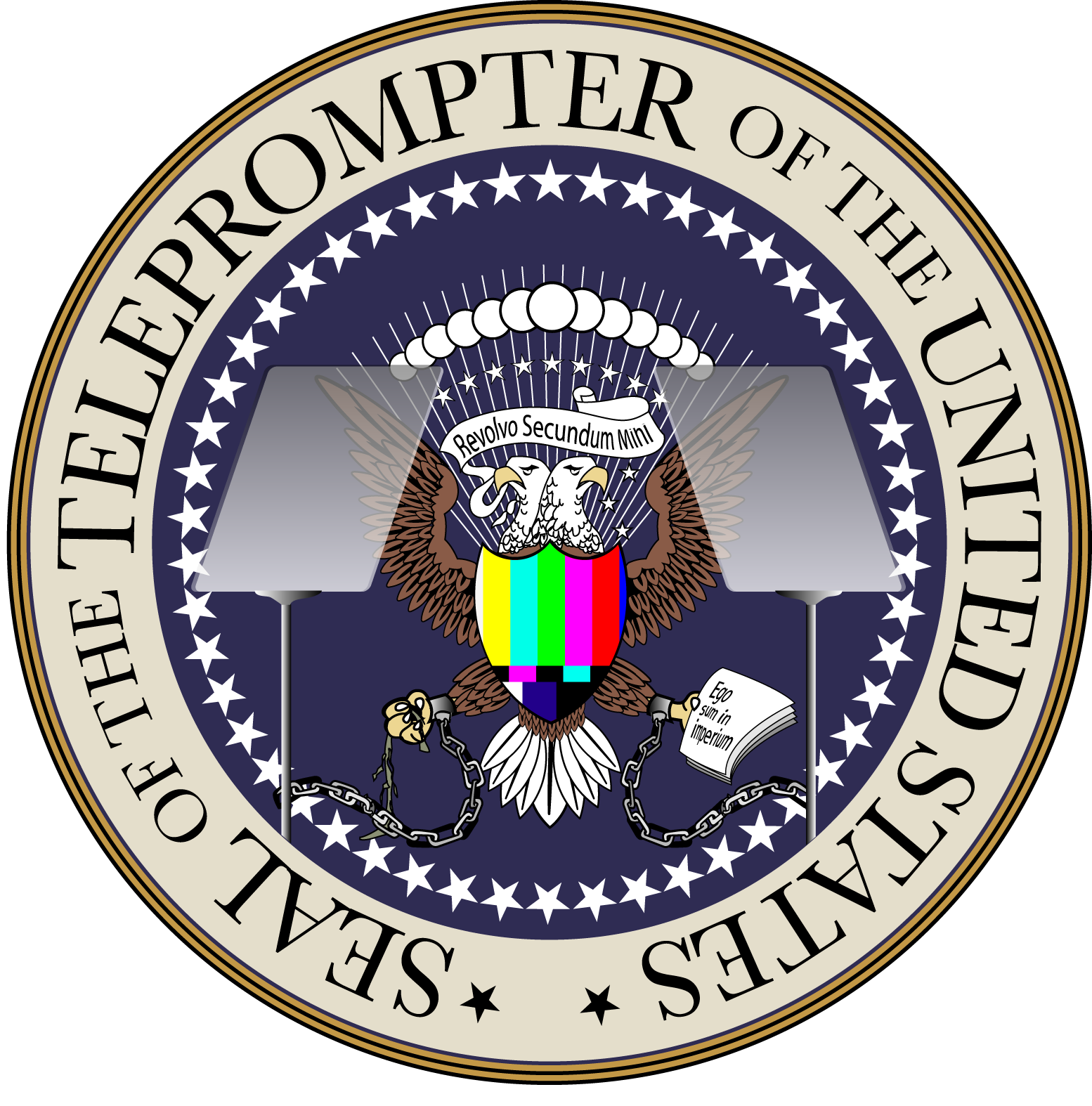 Seal of the united states png. Official teleprompter mike moody