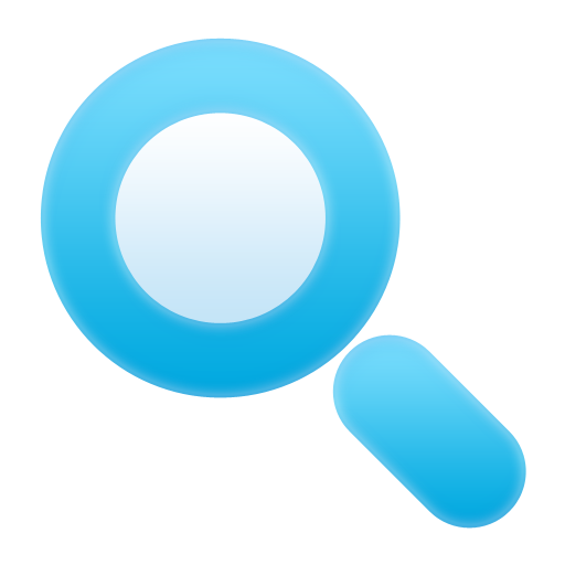 Search icon png. Bunch of bluish icons