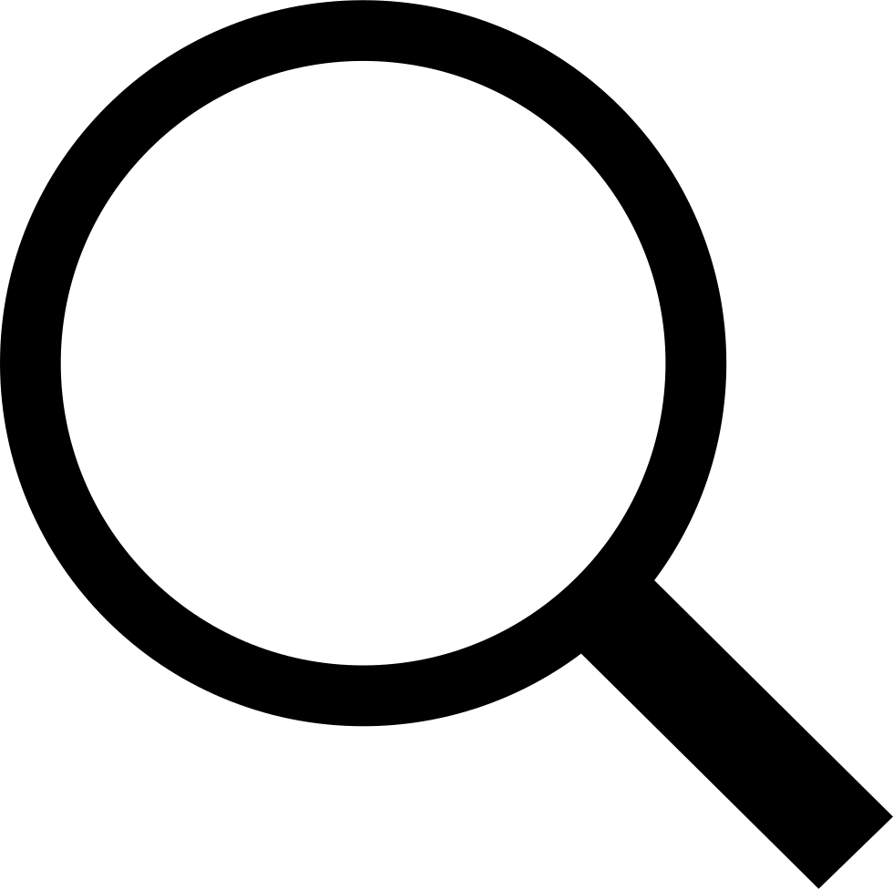 Search magnifying glass png. Svg icon free download