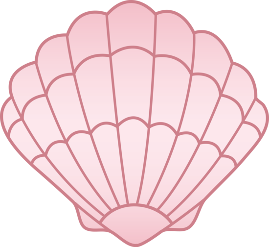 Seashell clipart cartoon. Shell