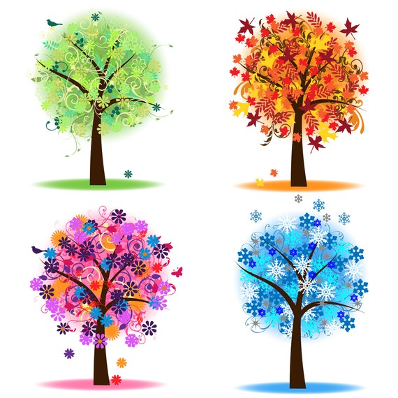 Season clipart branch. Seasons clip art free