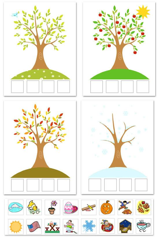 Season clipart kindergarten. Best weather seasons