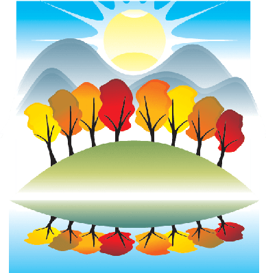 Season clipart scenery. Four seasons the arts