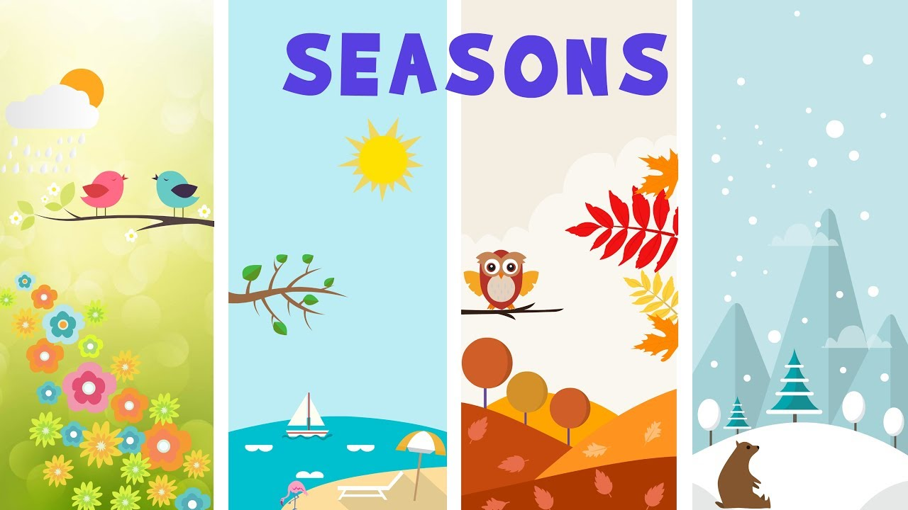 Season clipart season earth. Seasons cilpart luxury design