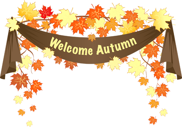 Season clipart welcome. Colorful clip art for