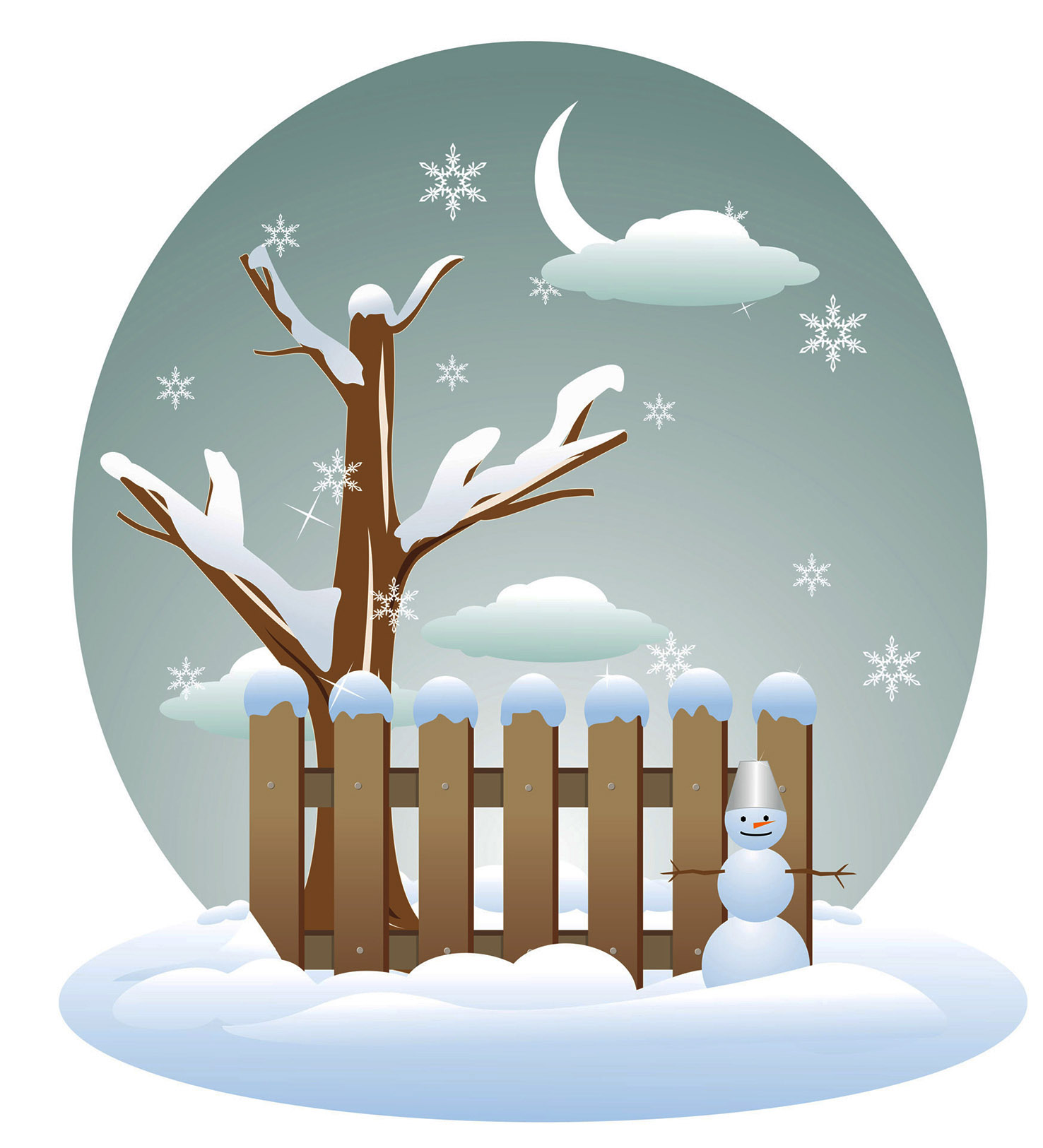 Years clipart winter. Seasons of the year