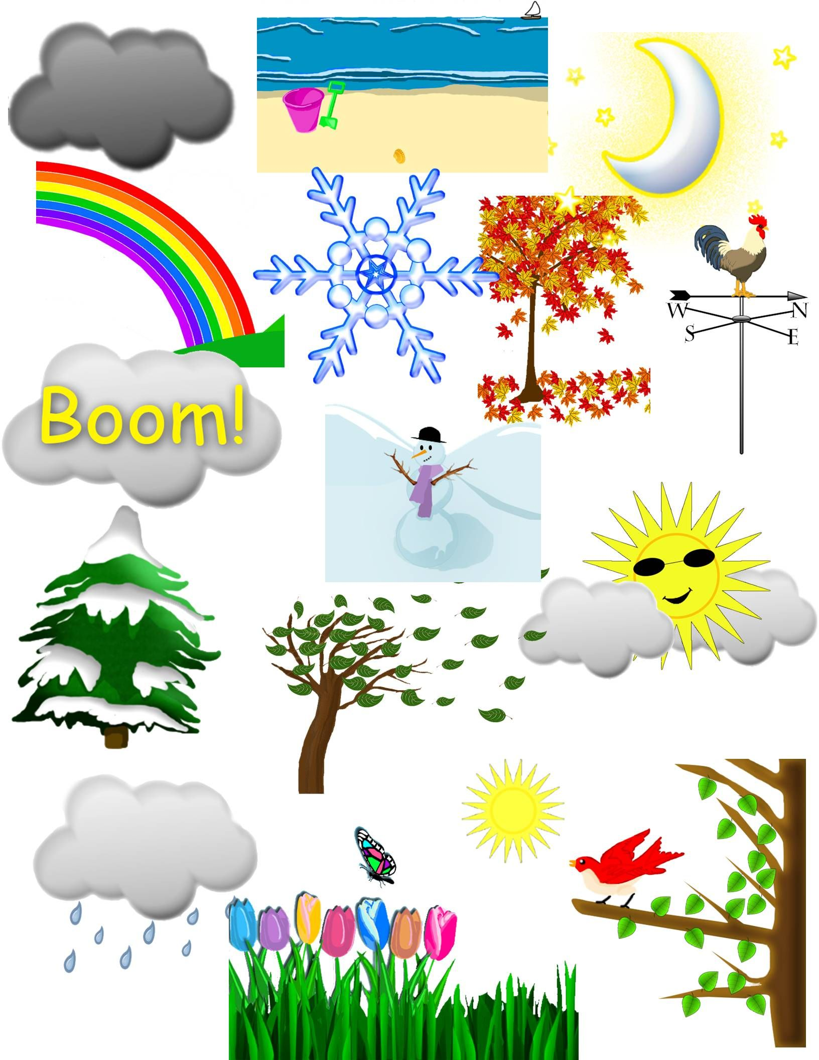Weather clipart science. And seasons clip art