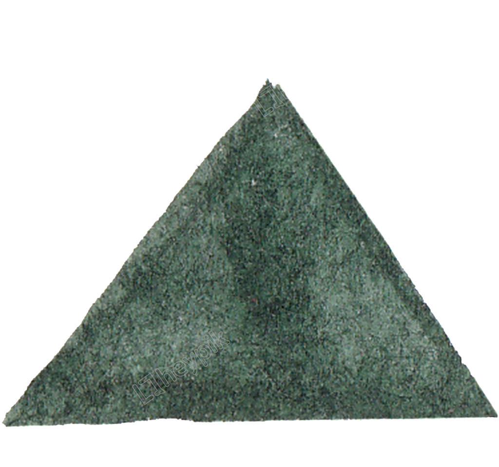 Vector triangles grey. Seaweed triangle transparent decorative