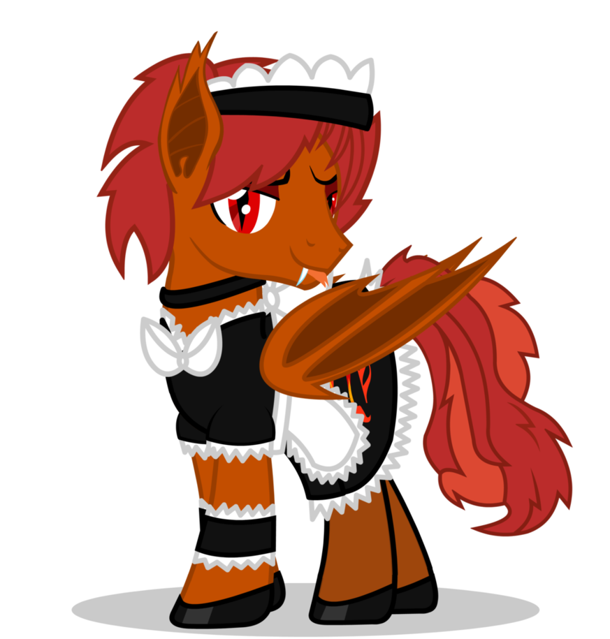 Sech drawing gxy. Crimson maid by goldenfoxda