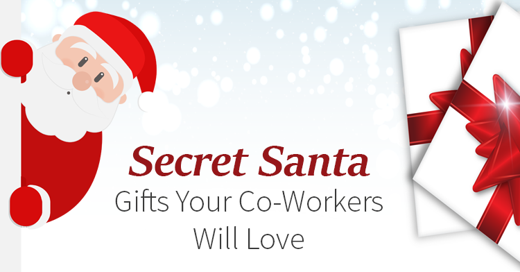 Secret clipart co worker. Santa gifts your workers