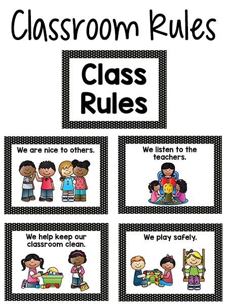 Secret clipart library rule regulation. Pre k classroom rules