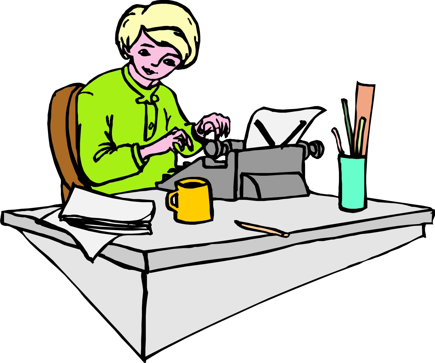 Secretary clipart admin support. Church bulletin bloopers because