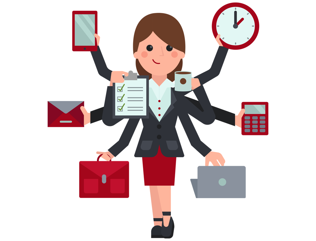 Secretary clipart admin support. My virtual assistant poem