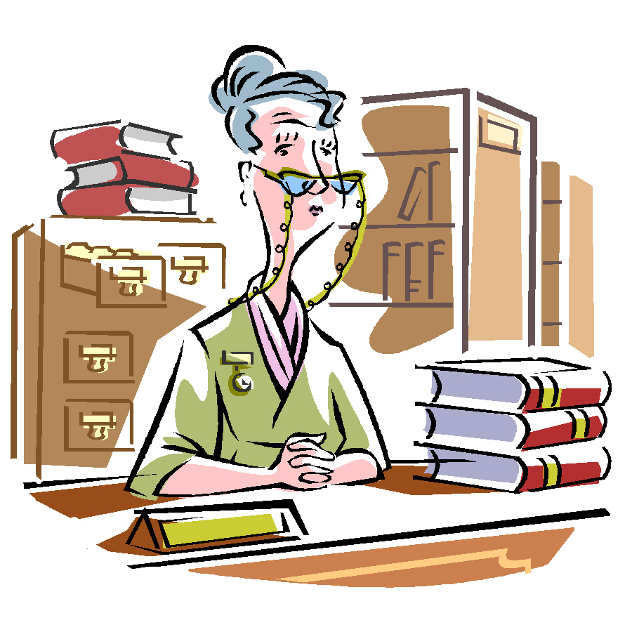 Collection of free bureaux. Principal clipart picture library library