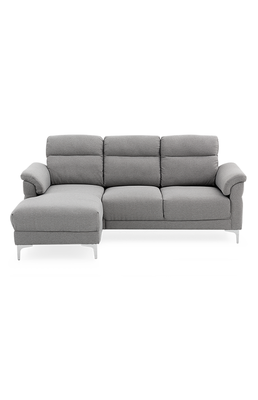 Sectional couch png. Fabric sofa grey economax